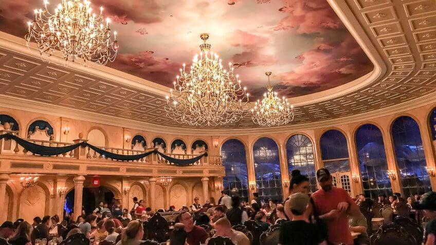 Be Our Guest restaurant Disney World Orlando