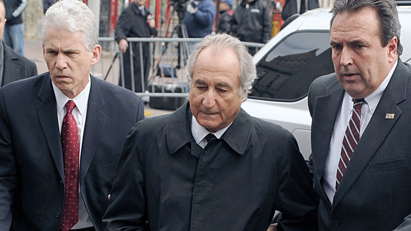 Bernie Madoff arrested for investment securities fraud