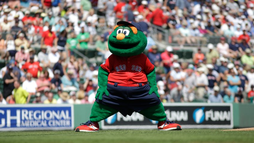 Boston Red Sox Wally the Green Monster mascot
