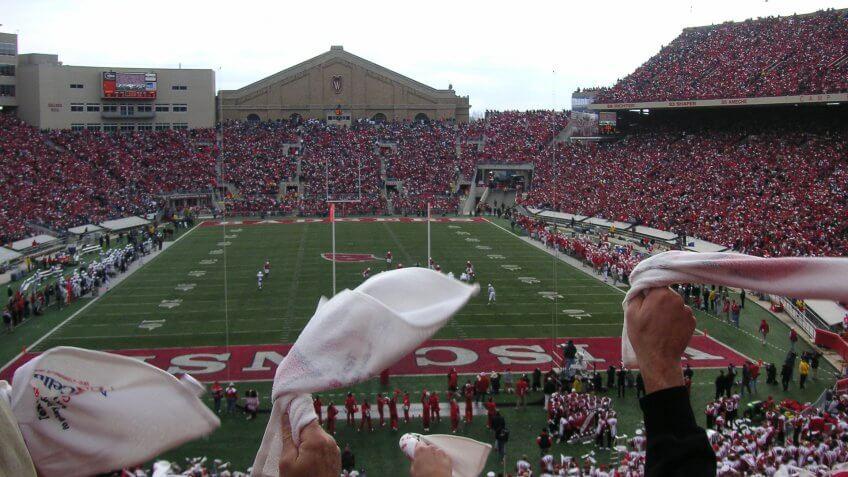 Camp Randall Stadium University of Wisconsin Madison.