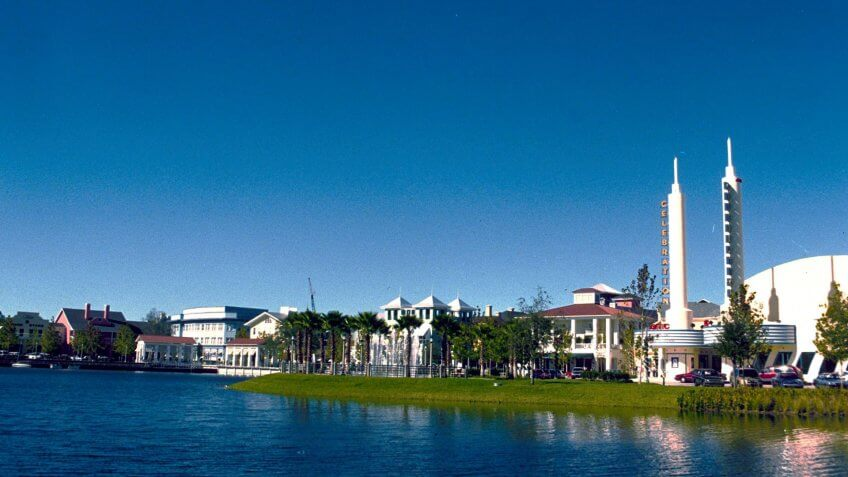 Celebration Florida Disney town
