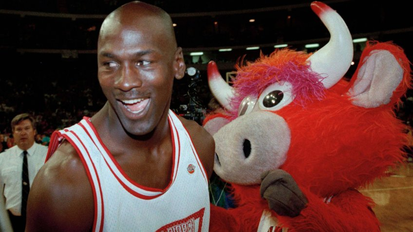 Chicago Bulls Benny the Bull mascot