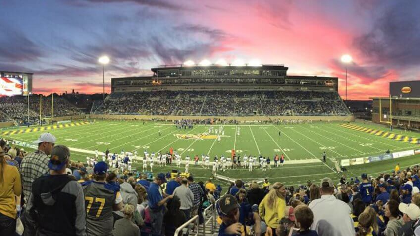 Dana J Dykehouse Stadium South Dakota State University.