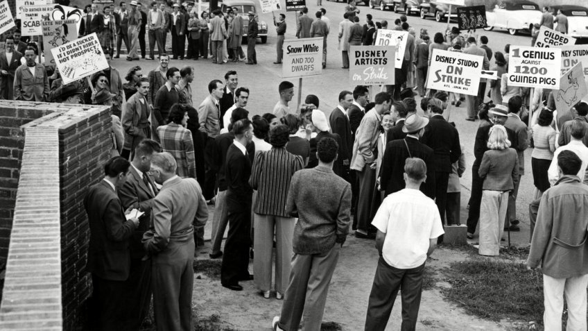 Disney AFL Screen Cartoonist Guild strike