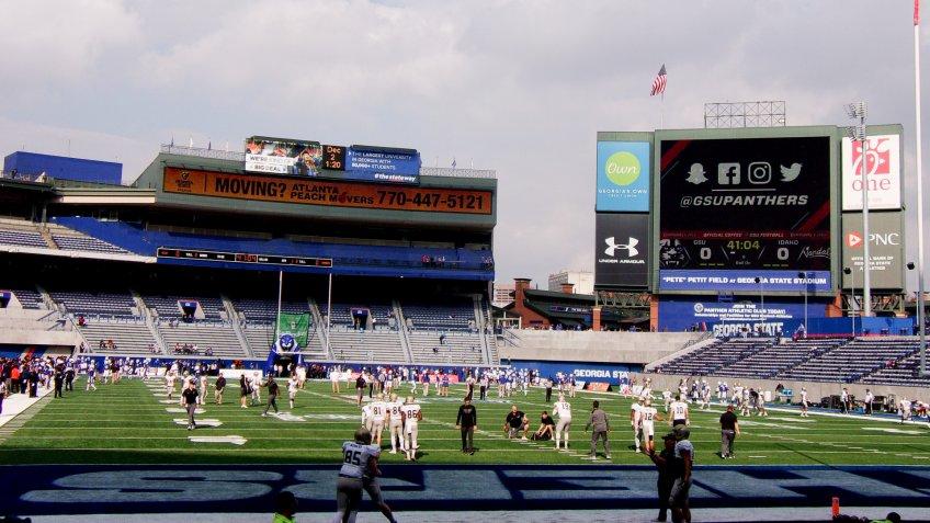 Georgia State Stadium.