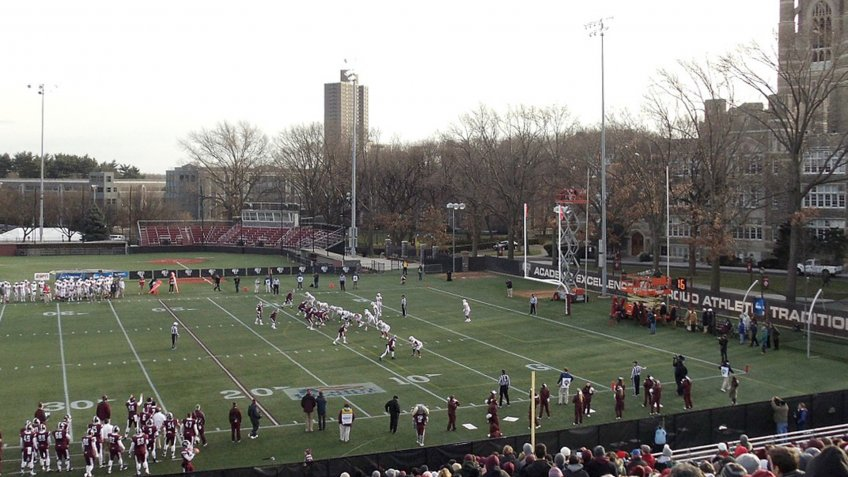 Jack Coffey Field Fordham University New York.