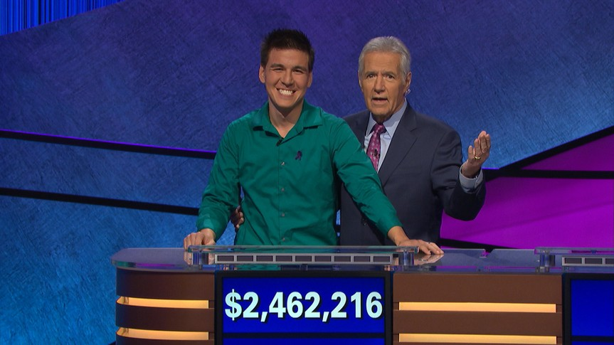 James-Holzhauer Jeopardy winner.