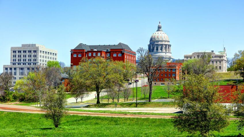 Jefferson City is the capital of the U.