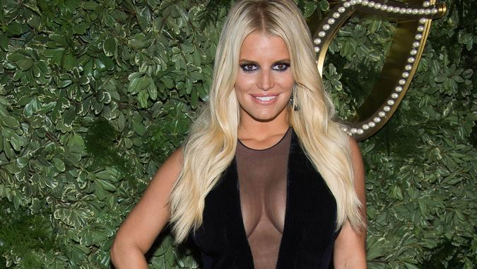 Jessica Simpson 10th Anniversary of Collection New York Fashion Week