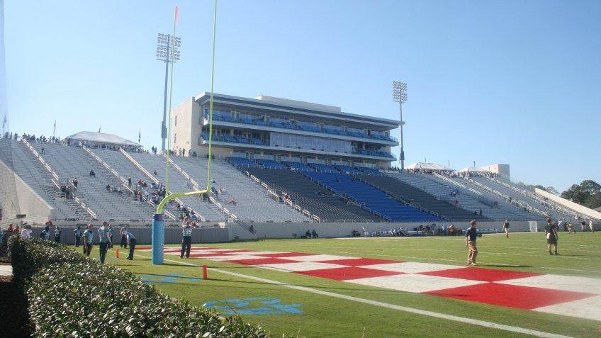 Johnson Hagood Stadium The Citadel Bulldogs.