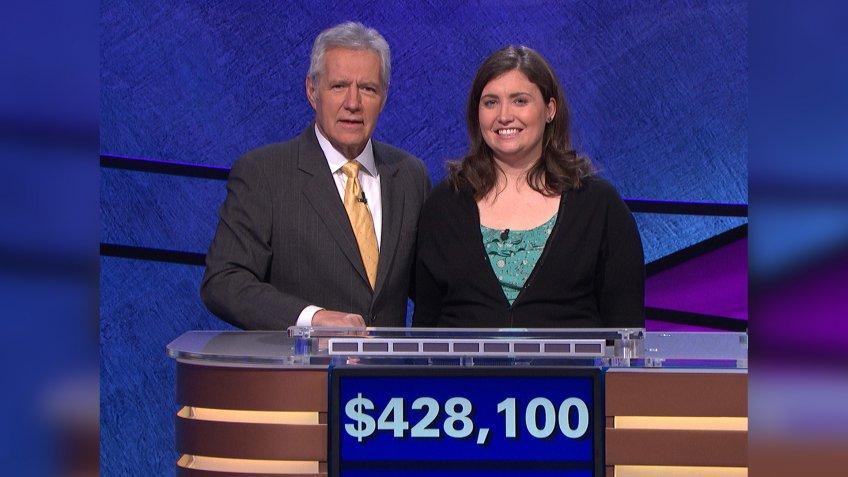 Julia Collins Jeopardy winner.