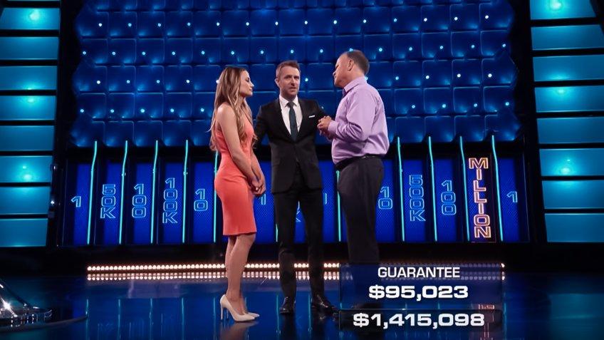 Kirk and Brooke Spangler The Wall winner.