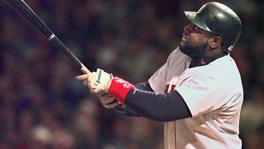 Maurice 'Mo' Vaughn Boston Red Sox