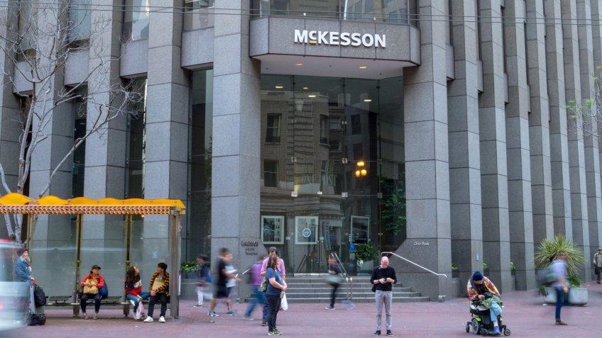 SAN FRANCISCO, CA - MARCH 30, 2018: McKesson headquarters in San Francisco.