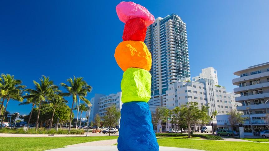 USA, Florida, Miami Beach, JANUARY 19 , 2017.