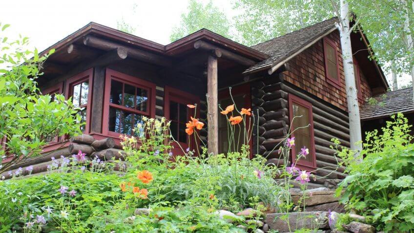 montana garden cabin - Image.