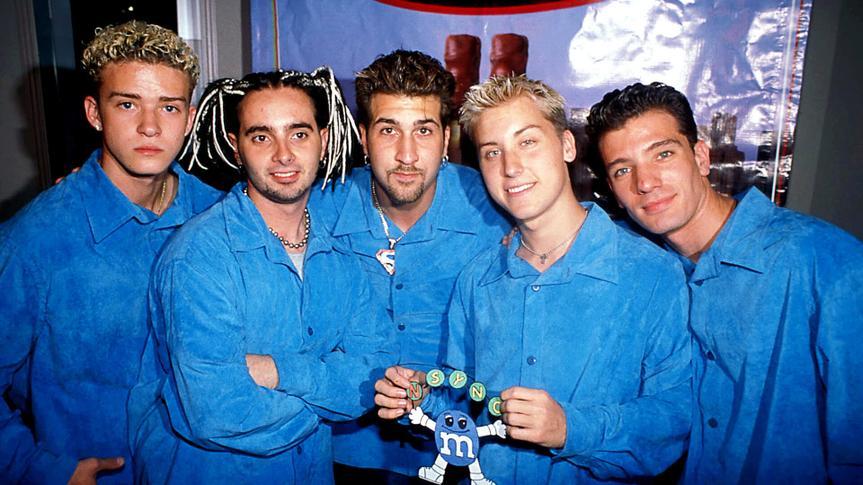NSYNC boy band