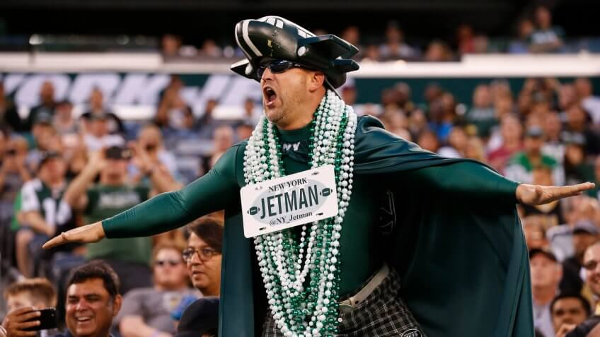 New York Jets fan