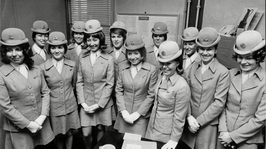 Pan Am Airways stewards uniforms