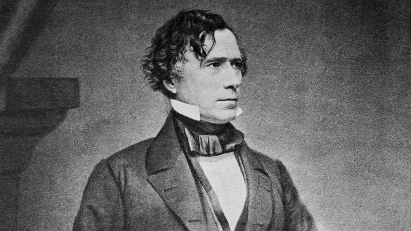 President Franklin Pierce.