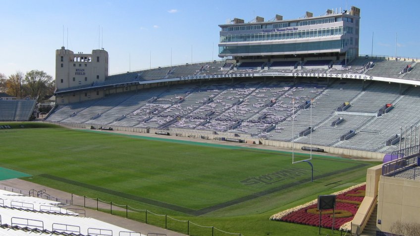 Ryan Field Northwestern University.