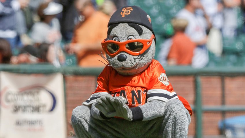 San Francisco Giants mascot Lou Seal