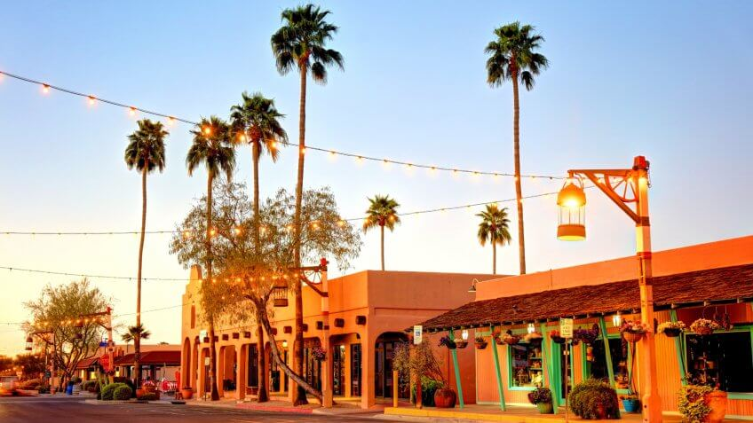 Old Town Scottsdale, the city's downtown hub, is home to hundreds of shops, galleries, chef-driven restaurants, upscale bars and high-energy nightclubs.