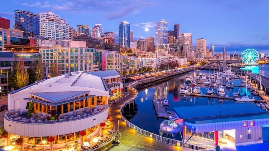 downtown Seattle, Pier 66.