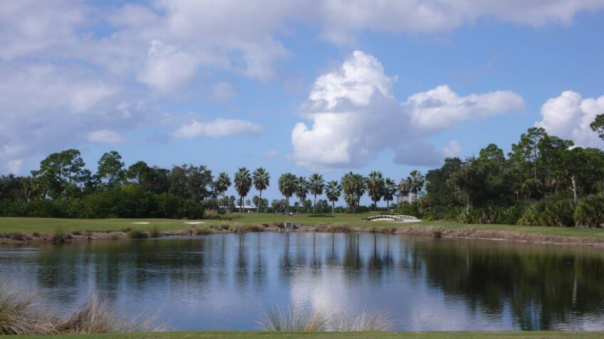 Shell Point Golf Course in Iona, Florida