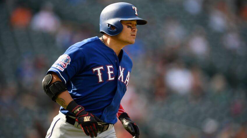 Shin Soo Choo Texas Rangers