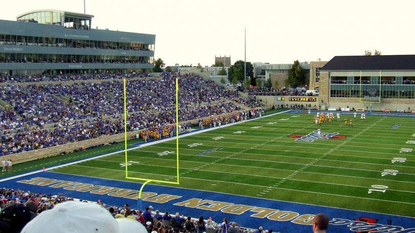 Skelly Field at HA Chapman Stadium University of Tulsa.