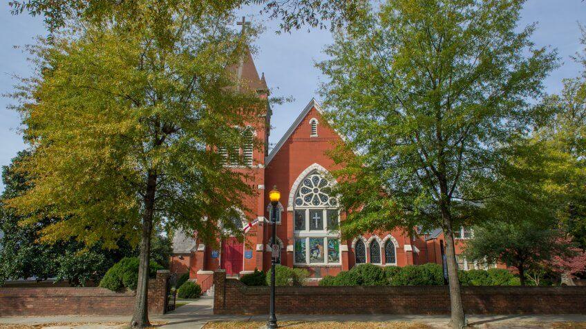 St. Paul's Episcopal Church in Suffolk, Virginia , USA - Image