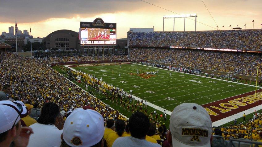 TCF Bank Stadium University of Minnesota.