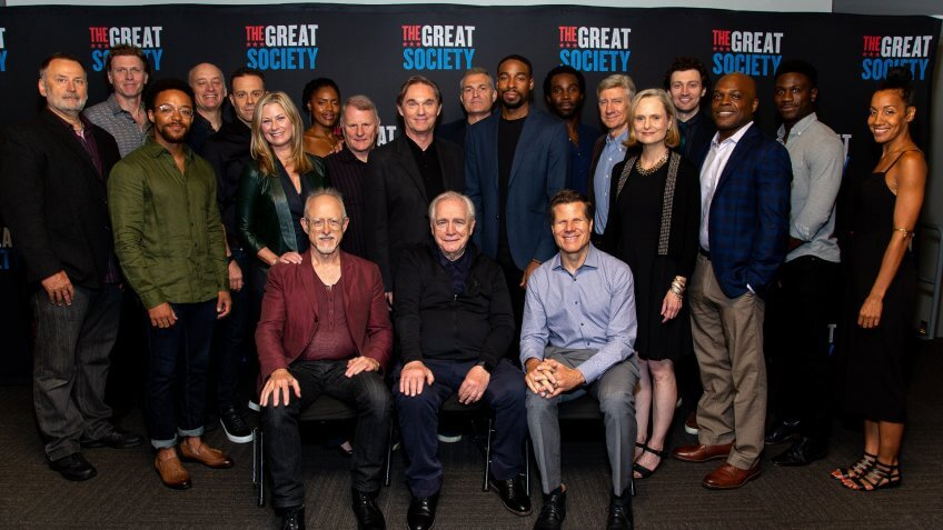 The Great Society cast and creative team