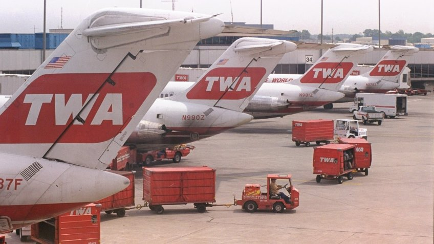 Trans World Airlines make second bankruptcy filing