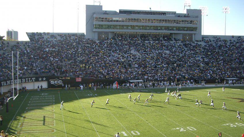 Vanderbilt Stadium Tennessee