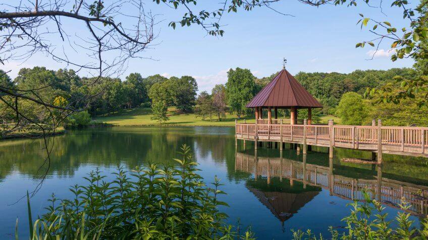 Meadowlark Botanical Gardens - Vienna, Virginia - Image.