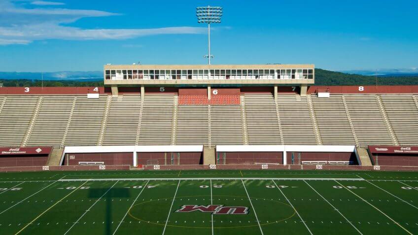 Warren McGuirk Alumni Stadium University of Massachusetts.