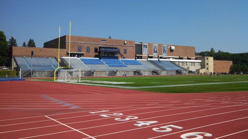 Wildcat Stadium University of New Hampshire.