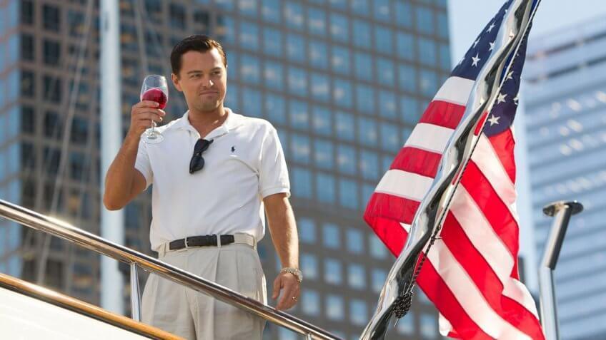 The Wolf of Wall Street movie still