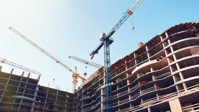 commercial real estate under construction