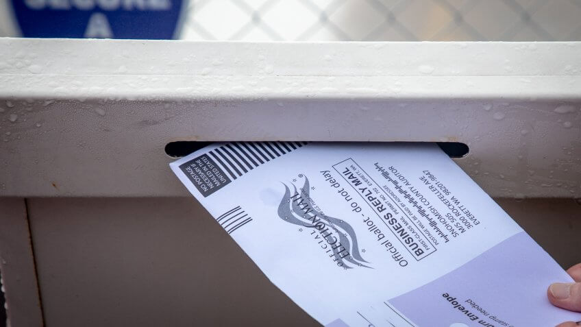 voting by mail in ballot
