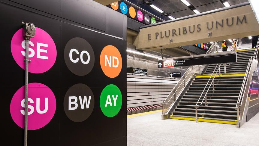 86th Street Second Av. Subway Station