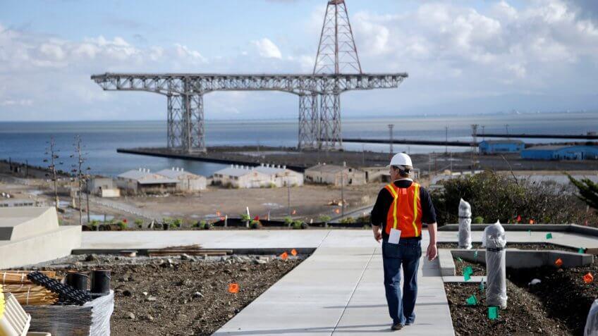 Hunter's Point Naval Shipyard in San Francisco homes development