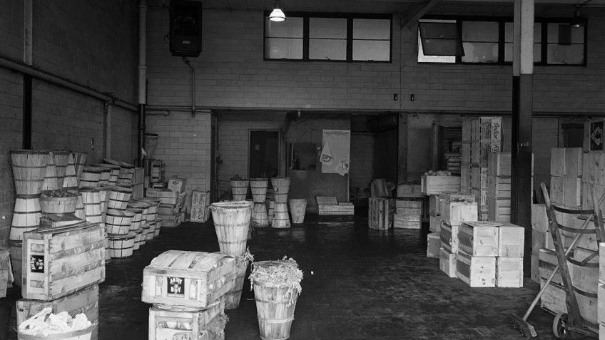 1948 Brooklyn Terminal Market.