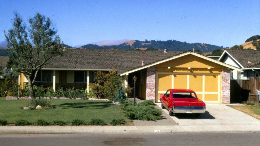 1968 home in San Ramon California