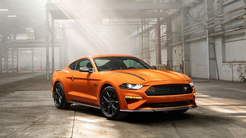 2020 Ford Mustang.