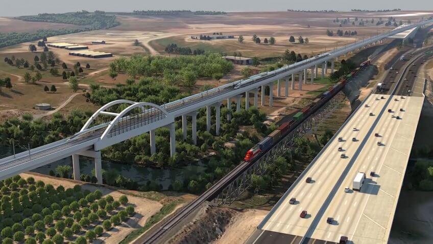 California High Speed Rail San Joaquin River Viaduct
