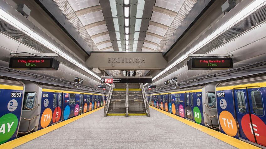 86th Street Second Av. Subway Station Unveiled
