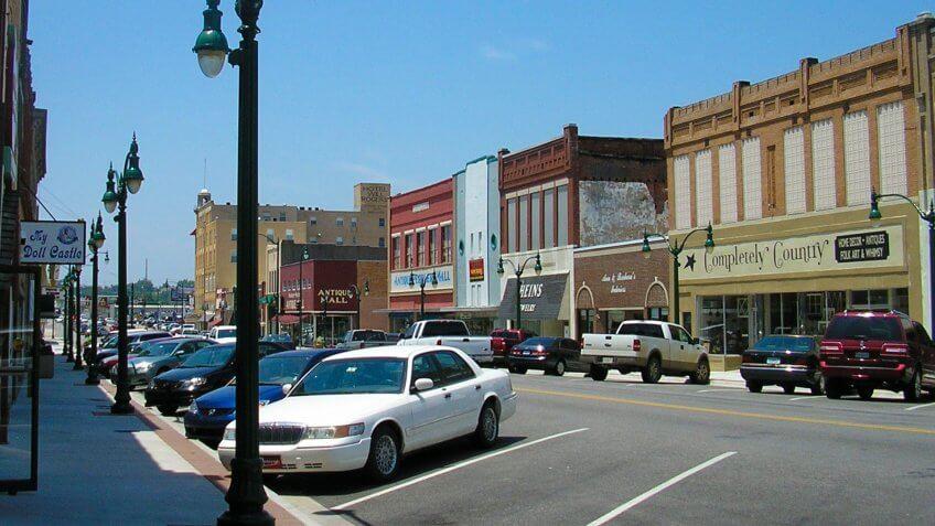 Downtown Claremore Oklahoma